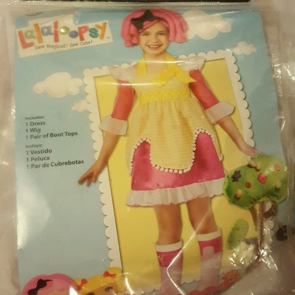 girls lalaloopsy sugar cookie halloween costume 4t